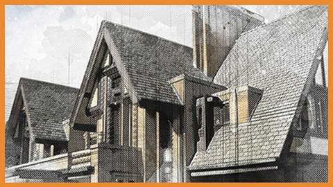 Croquis Arquitectónicos con PhotoShop. Acciones Automáticas