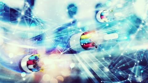 Diseño y construcción de redes de fibra óptica.