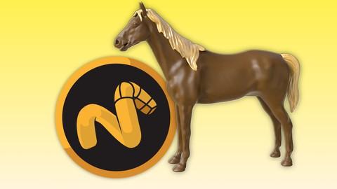 Horse modelling in Modo 3D