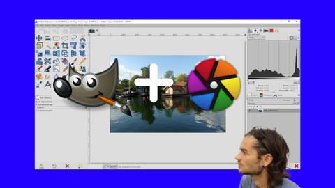 Photo editing with Gimp and Darktable