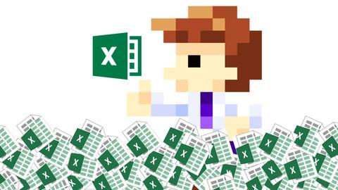 Excel VBA[第4弾]大量ブック・大量シート操作編!50個のExcelブックを一気にデータ収集するマクロ3時間講義