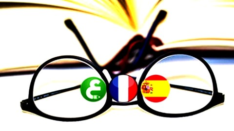 5 minute French, Arabic and spanish - Course 1