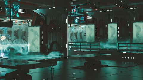 Creating A Si-fi Environment - Bio Lab