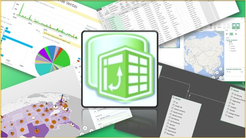 Domina Power Pivot, Power Query, Power View y Power Map