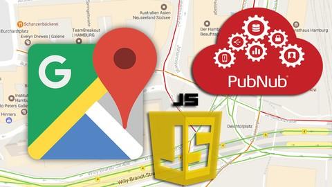 Pubnub - Javascript Realtime Maps Geolocation Tracking