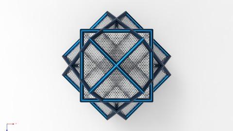 Structural Frame Design & Weldments Using Solid Edge 3D CAD