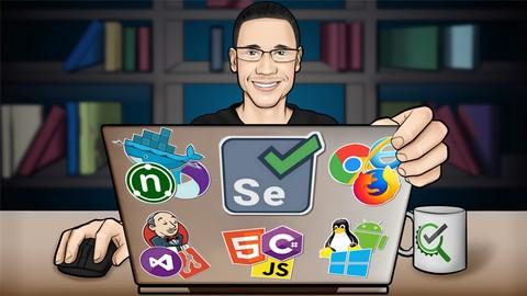 Automação de Testes Com Selenium WebDriver e C# - COMPLETO