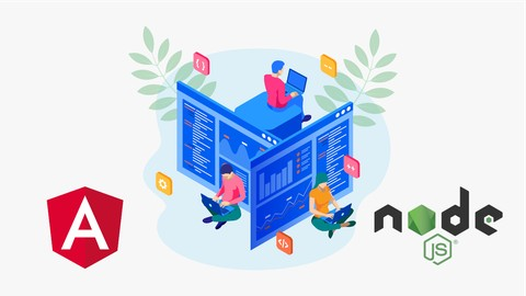 Angular 8 Real World WebApp Development w/ Node.js & MariaDB