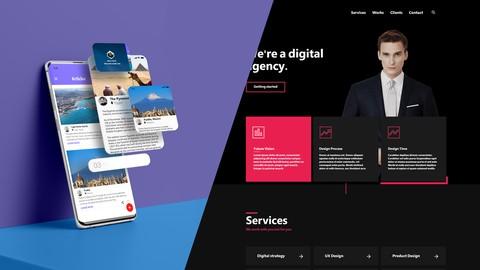 احترف تصميم واجهات المواقع و التطبيقات بإستخدام (Adobe XD)