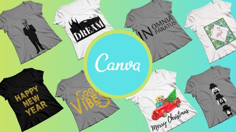 T-Shirt Design for Beginners Using Canva Pro