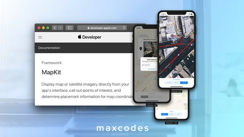 MapKit & CoreLocation in Swift & Xcode - Build Map Features.