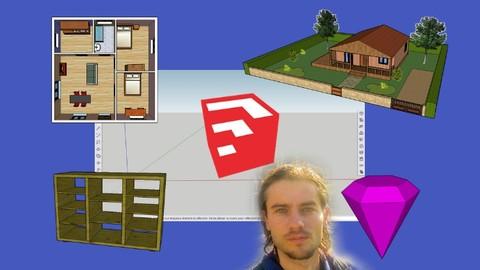 Sketchup free apprendre la modélisation 3D sur navigateur
