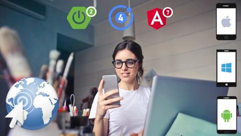 Full Stack Web (Angular) and Mobile (Ionic) App Development