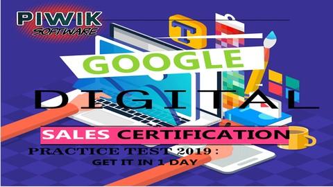 Google Digital Sales Certification Exam Practice Test 2020