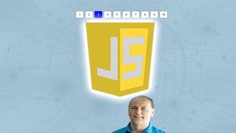 JavaScript Data Pagination Code JavaScript ES6 Project Code