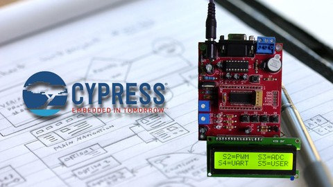 MICROCONTROLADOR CYPRESS CY8C29466 PROGRAMACION LENGUAJE C