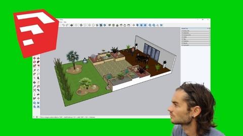 Sketchup for garden design