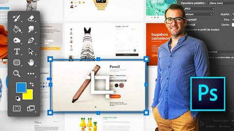 Photoshop CC - Pack E-commerce - Préparez vos visuels