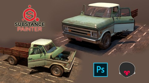 Master Video Game vehicle texturing with Substance Painter