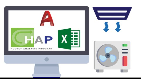 HVAC (PART1) with HAP|Excel|AutoCAD|Manual Calculations