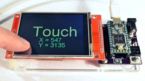 Explain&How Use Touch Panel Library MikroC and Interface PIC
