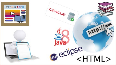 Complete course of Java based web application development