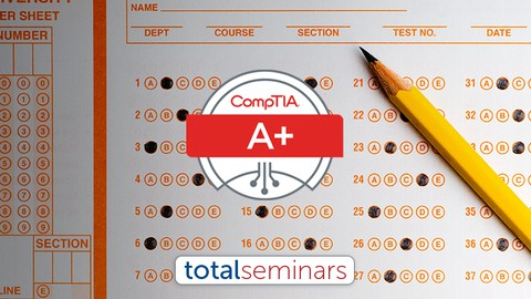 TOTAL: CompTIA A+ Certification (220-1002) Practice Tests.
