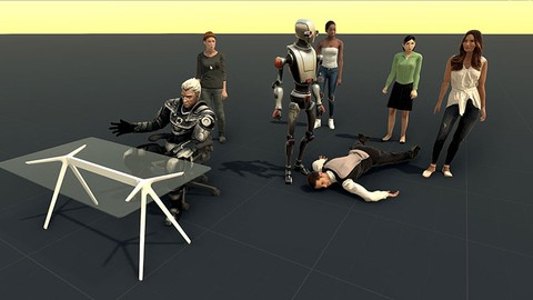 3D Characters in Unity