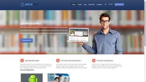 Site EAD (Vídeo aula) Wordpress + Pagseguro Negócio Próprio