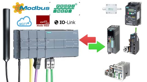 Industrial Communication by Siemens S7 1200PLC-Real Hardware