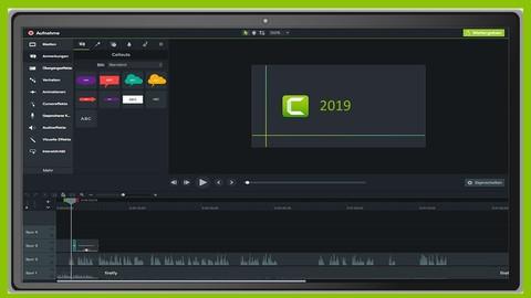 Camtasia: Screencasts aufnehmen und editieren