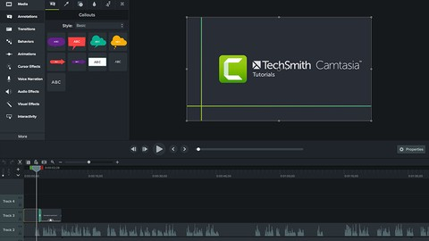 Camtasia Mastery for Camtasia Studio from scratch