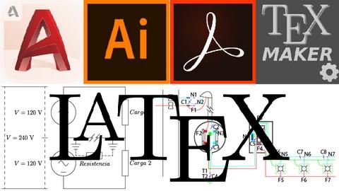 Documentos en LaTeX con AutoCAD, Adobe Acrobat e Illustrator