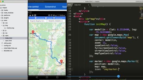 Geolocation - Google Maps API - HTML5 for mobile Apps