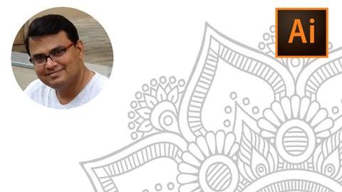 Mandala Therapy Course using Illustrator CC