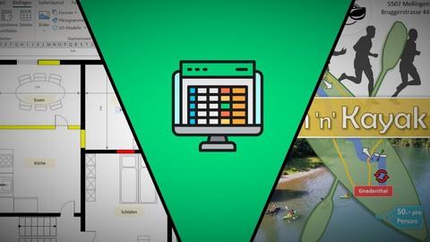 Zeichnen und Gestalten mit Excel - Komplettkurs