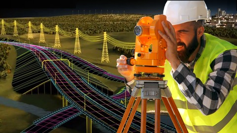 Civil 3D Level 1/4 - for Civil Works and Land Surveying