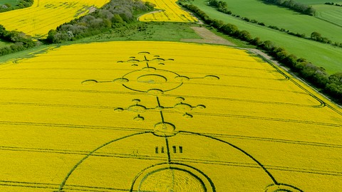 Messages from Aliens? Crop Circles; Signs of Hope