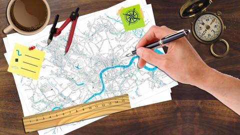 تصميم الخرائط الاحترافية