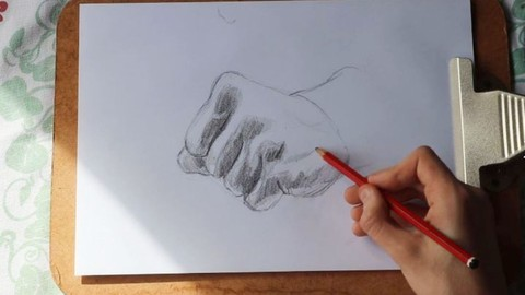 Simple Methods for Drawing Hands   Easy, Effective Lessons