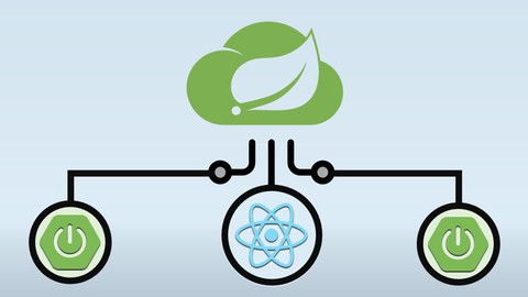 React + Spring Boot Microservices and Spring Cloud