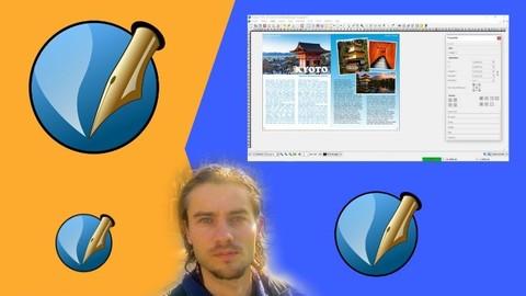 Scribus beginner to intermediate, basics and training