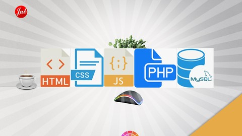 HTML, CSS, Javascript, PHP, dan MySQL (5 in 1)