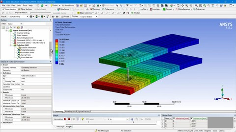 ANSYS Workbench - Introduction to simulation design