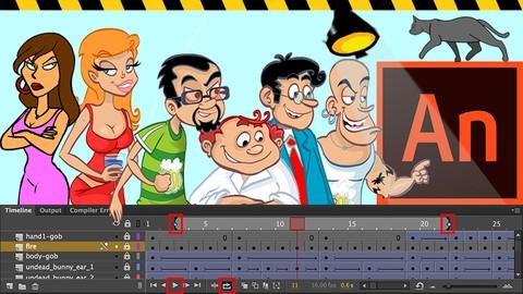 Adobe Animate CC ile Animasyon ve Çizgi Film Eğitimi