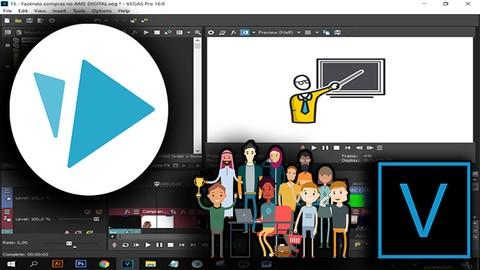 Animação Whiteboard com tutorial Sony Vegas e Toonly