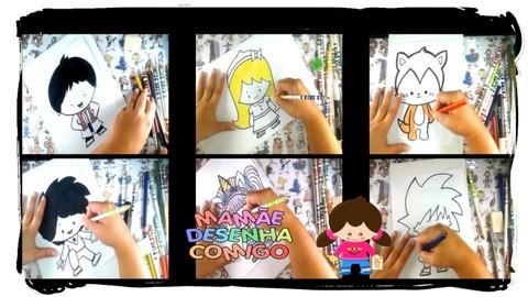 Curso de Desenho Chibi Kawaii para Iniciantes