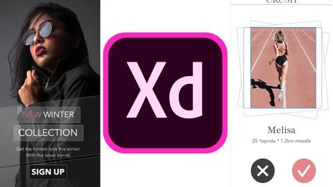 Adobe XD ile UI/UX Mobil Arayüz Tasarım Kursu