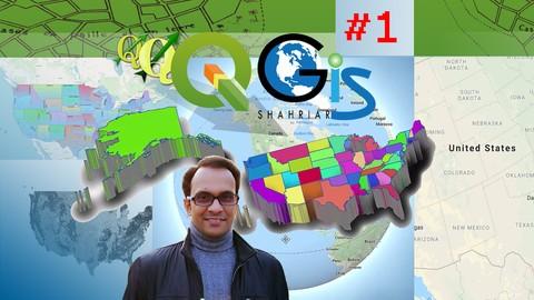 GIS & QGIS Level 1: Fundamental of QGIS For Smart GIS Work