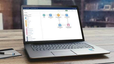 Salesforce Lightning Flow Builder : Getting Started